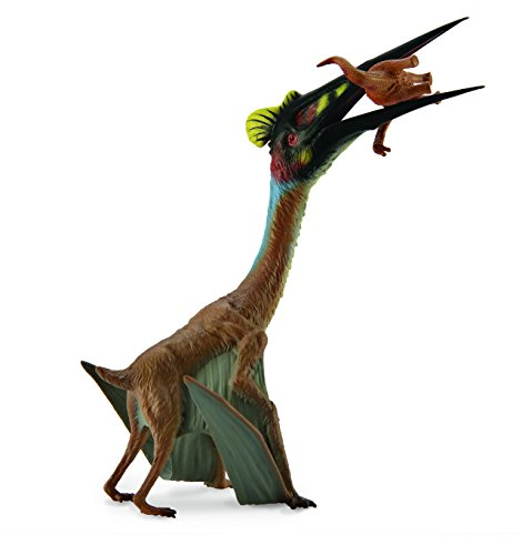 Collect A Prehistoric Life Quetzalcoatlus Toy Figure with Prey