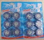 12 x LOO BLUE TOILET BLOCK TABLETS