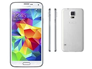 Samsung Galaxy S5, 16GB  - 3G Unlocked G-900H (White)
