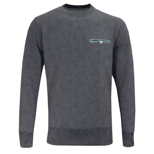 Tokyo Tigers Ishikari Arm Patch Sweatshirt Top Jumper Mens Size XL Charcoal Grey