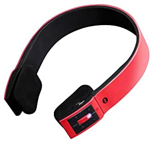Sonixx X-Sport Bluetooth Casque sans fil avec microphone (iPhone / iPad / Android / Windows / Samsung Galaxy / HTC etc.) - Rouge