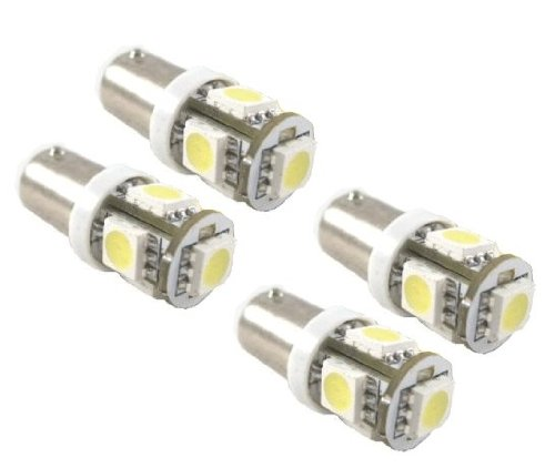 Cutequeen Trading 10Pcs Led Car Lights Bulb Green Ba9 Ba9S 3528 20-Smd 20Smd Ba9S, 53, 57, 182, 257, 1895, 6253, 64111, 64113 (Pack Of 10)