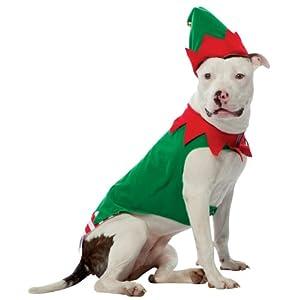 Rasta Imposta Mens Elf Pet Costume by Rasta Imposta