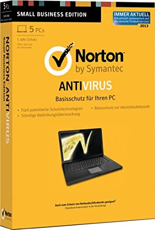 Norton Antivirus 2013 - 5PCs