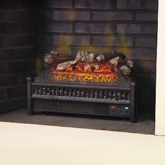 Comfort Smart 23-Inch Electric Fireplace Insert/Log Set - ELCG240 image B006L8NLP6.jpg