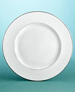 "Martha Stewart Collection with Wedgwood ""Petal Lattice"" Dinner Plate, 10.75"""