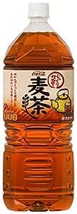 [2CS] コカ・コーラ 茶流彩彩 麦茶 (2.0L×6本)×2箱