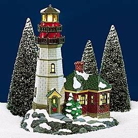Department 56 Snow Village Christmas Cove Lighthouse
