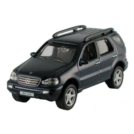 HO Die-Cast 2002 Mercedes Benz ML Class, Black - Buy HO Die-Cast 2002 Mercedes Benz ML Class, Black - Purchase HO Die-Cast 2002 Mercedes Benz ML Class, Black (Model Power, Toys & Games,Categories,Play Vehicles,Trains & Railway Sets)