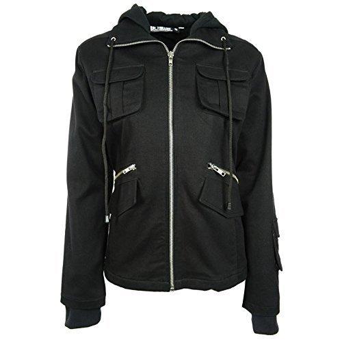 Industries Poizen Bella giacca nero donna ragazza