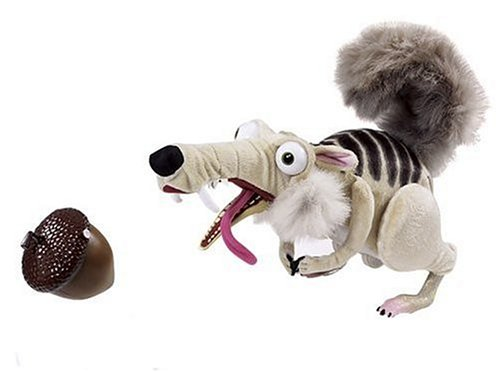 Buy Low Price Mattel Ice Age 2 Go Nutz Scrat Figure (B000AX20NW)