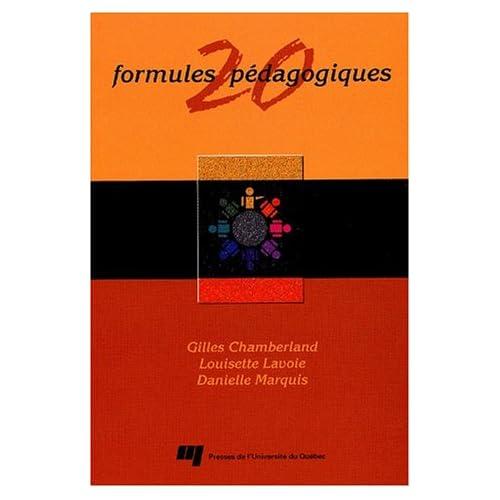 20 formules pédagogiques