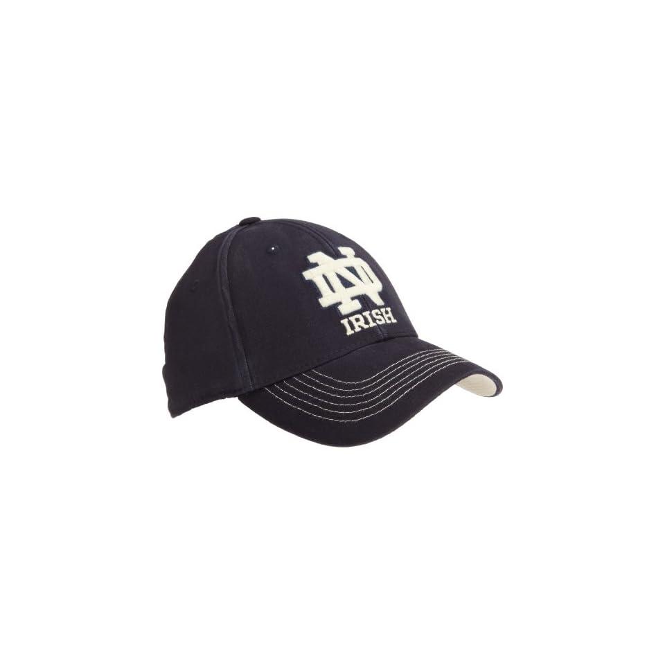 Notre Dame Fighting Irish Reign Hat, Navy, One Fit