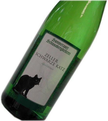 黒猫ワインでおなじみ シュロスベルグ ツェラー・シュヴァルツ・カッツ 白