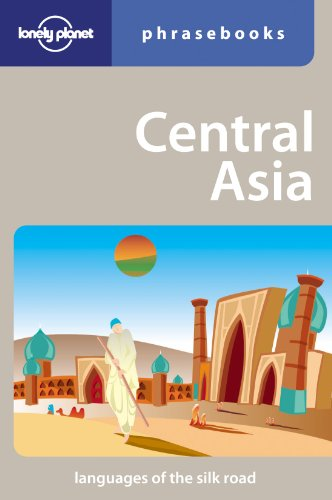 Central Asia: Lonely Planet Phrasebook (Map Of Central Asia compare prices)