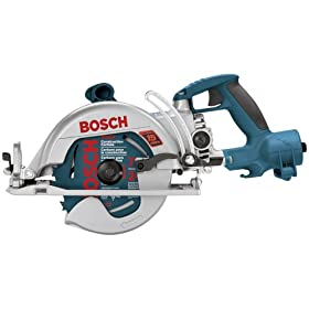 Bosch 1677MD 15 Amp 7-1/4-Inch Wormdrive Construction Saw with Direct Connect