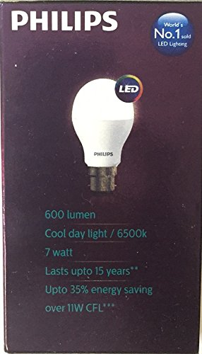 Philips-Ace-Saver-7W-600L-B22-LED-Bulb-(Crystal-White,-Pack-of-6)