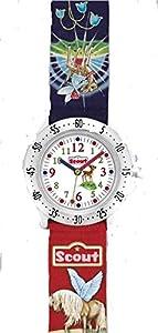 Scout Mädchen-Armbanduhr Analog Quarz Textil 280378001