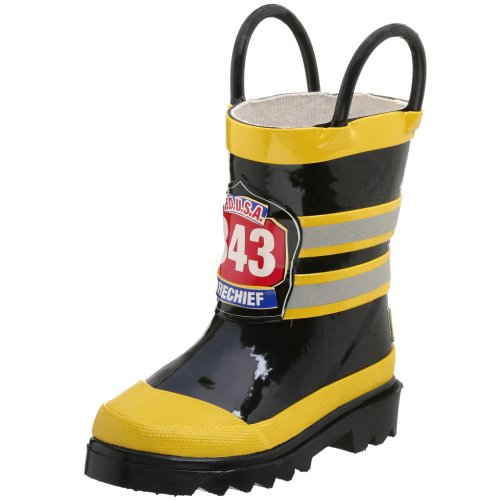 Western Chief F.D.U.S.A. Rain Boot ,Black,7 M Us Children/Toddler front-820813