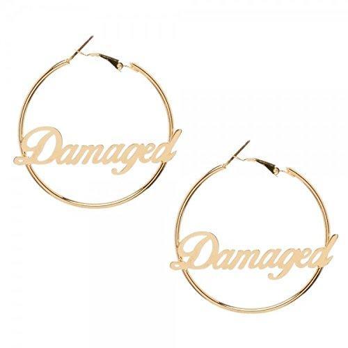 SUICIDE-SQUAD-Harley-Quinn-Damaged-Hoop-Earrings