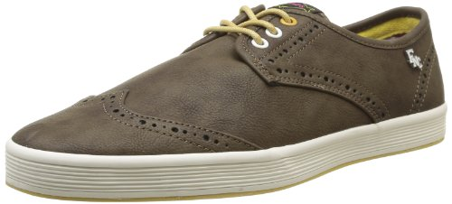 Base London Chowder Sneakers, Uomo, Marrone (020 Grain Moss), 45