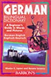 img - for German Bilingual Dictionary (Beginning Dictionaries in Foreign Languages) book / textbook / text book