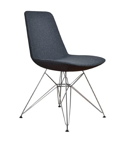 Aeon Furniture Paris 3 Side Chair, Set of 2, Grey