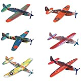 "8"" FLYING GLIDER PLANE TOY SET OF 12 - Play Kreative TM"