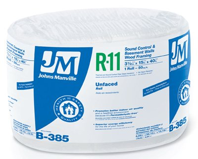 Johns Manville Intl 90003724 R11 15X40 Un-Faced Roll Unfaced Insulation (Johns Manville Insulation compare prices)