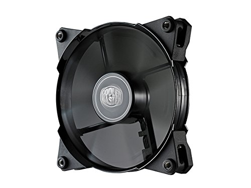 Cooler Master JetFlo 120 - POM Bearing 120mm High Performance Silent Fan for Computer Cases, CPU Coolers, and Radiators (Black) (Cooler Master Black compare prices)
