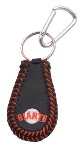 MLB San Francisco Giants Team Color Baseball Keychain