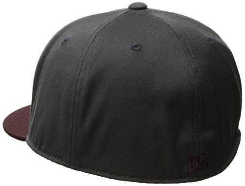 DC Men's Ya Heard Hat, Licorice, Large/X-Large