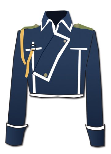 Fullmetal Alchemist Brotherhood Military Jacket Costume Blue
