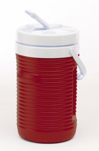 Rubbermaid 1/2-Gallon Water Jug, Red