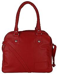 Mukul Collection Women's Shoulder Handbags Maroon (mc-hb-002)