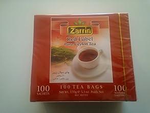 Zarrin Red Label Pure Ceylon 100 Teabags