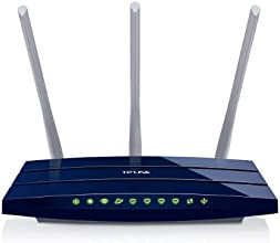 TP-LINK TL-WR1043ND - Router inalámbrico Gigabit (N300, WPS, Puertos Gigabit, 1 puerto USB para compartir archivos, medios e impresoras)