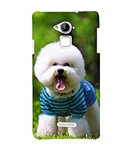 Vizagbeats Cute Pet Dog Back Case Cover for Coolpad Note 3