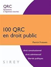 100 QRC en droit public