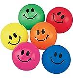 Smile Face Bouncing Balls 48ct