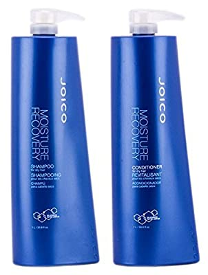 Joico - Moisture Recovery Shampoo and Conditioner Liter Duo Set(33.8oz)