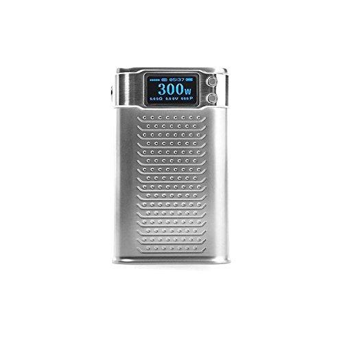 Authentic-SMOKTech-KOOPOR-Primus-300W-TC-VW-Box-Mod-Zinc-Alloy-318650-Needs-Silver