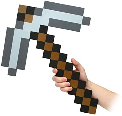 ThinkGeek Officially Licensed Minecraft Foam Diamond Pickaxe from Ailishes