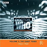 Doctor Who At The BBC Radiophonic Workshop: Volume 1: The Early Years: 1963-1969 Various Artists