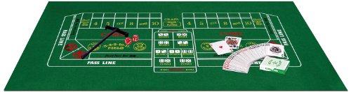 Beistle 50085 Blackjack/Craps Set (Felt Craps Table compare prices)