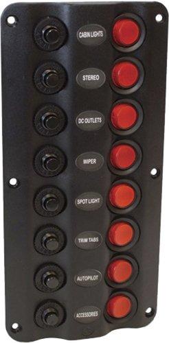 Seasense Led Switch Panel 8 Gang