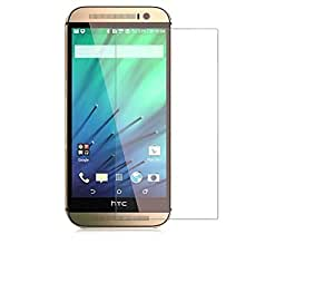 Mobikare(TM) Crystal Clear, 9H Hardness Tempered Glass Screen Protector For HTC Desire 526G+ dual sim