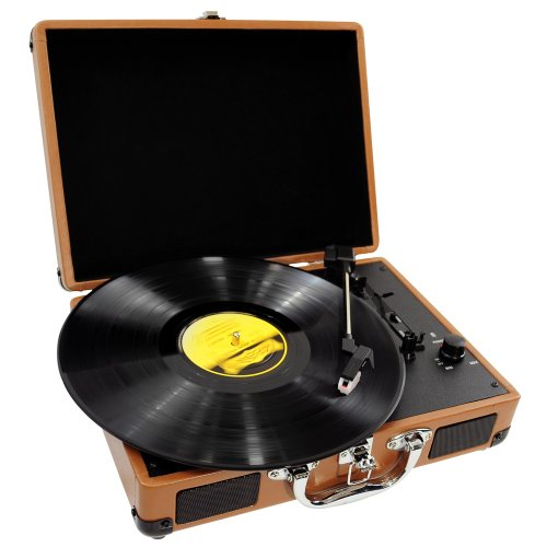 PYLE-HOME PVTT2UWD Retro Belt-Drive Turntable with USB-to-PC