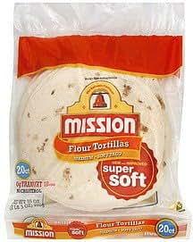 Amazon.com: Mission, Flour Tortillas, Medium, 20 Count