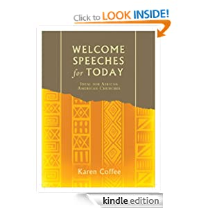 Welcome Speeches for Today eBook: Karen Lynn Coffee ...